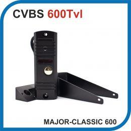 MAJOR CLASSIC 600. Вызывная панель. ЧЁРНЫЙ. 600Твл.