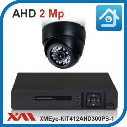 Комплект видеонаблюдения на 1 камеру XMEye-KIT412AHD300PB-1.