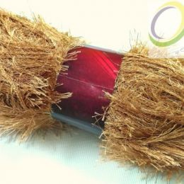 Пряжа ''травка'', цв.: св. коричневый