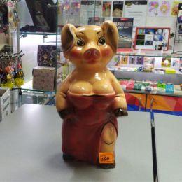 Копилка Свинка леди