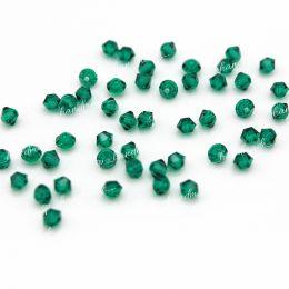 Биконусы 50730 Emerald 3 мм 50 шт (Preciosa)