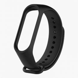 """Ремешок для """"Xiaomi Mi Band 3/Mi Band 4"""" силиконовый (black)"""