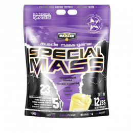 MAXLER Special mass gainer, дойпак 5,45кг. Vanilla ice cream