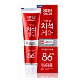 Median Зубная паста красная (удаление зубного камня) Median 93% Max toothpaste