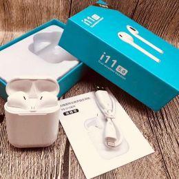 Беспроводные Bluetooth BT наушники i11 5.0 TWS Белый Air