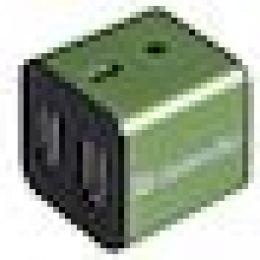 USB концентратор (хаб) DEFENDER Quadro Iron 4 порта, USB2.0, цвет зеленый