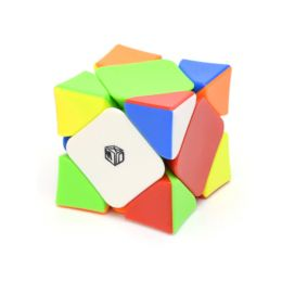 QiYi MoFangGe X-Man Skewb Wingy Magnetic Цветной пластик