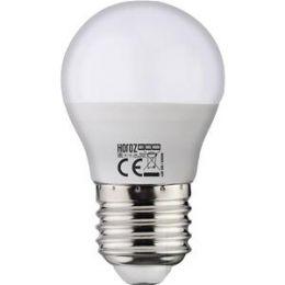 Лампа шар LED 6W E27 6400К /10/100 Elite-6
