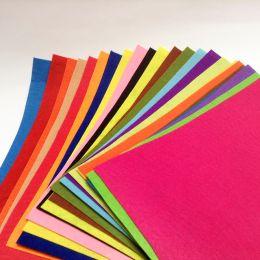 Фетр лист А4 одноцветный.