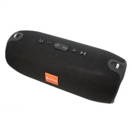 Портативная акустика BT, USB, MicroUSB, SD, AUX, 3000 mAh, Xtreme, black, ALFA-TECH