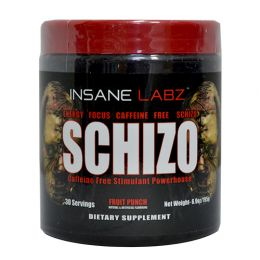 INSANE LABZ Schizo, банка 195гр, Fruit punch