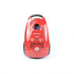 Пылесос электрический бытовой SHIVAKI VCB 0418 красный