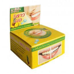 Круглая зубная паста с экстрактом ананаса 25 гр.