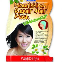 Purederm norishing repair hair mask (Питательная маска для волос с экстрактом ромашки)