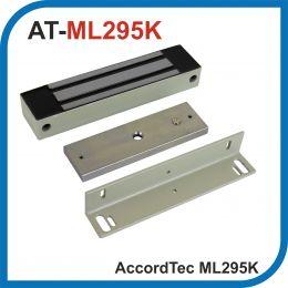 Accordtec. ML-295K. Серый. Электромагнитный замок с уголком. Усилие 300 кг.