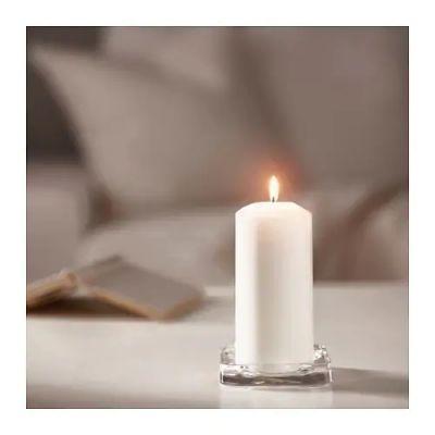ФЕНОМЕН Неароматич свеча формовая, естественный 15 см