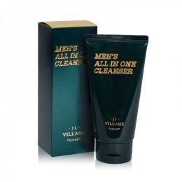 VILLAGE 11 FACTORY Мужская увлажняющая пенка-скраб для умывания и бритья Men's All In One Cleanser