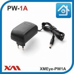 XMEye-PW1A(Корпус/Вилка). 12 Вольт. 1 Ампер. Импульсный блок питания для камер видеонаблюдения.