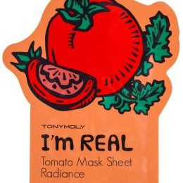 TONY MOLY I AM REAL Тканевая маска с экстрактом антиоксидантная (томат). 21мл