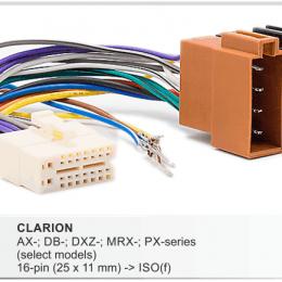 Разъемы магнитол Clarion CARAV 15-102