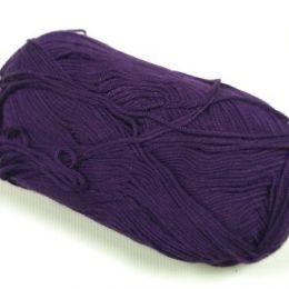 Пряжа Бамбуковая, цв.: фиолетовый 926