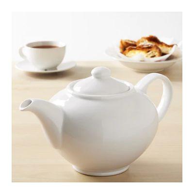ГУТЕРА Чайник заварочный, белый