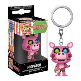 Брелок Funko Pocket POP! Keychain: FNAF:Pizza Sim: Pigpatch 32156-PDQ