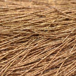 """Трунцал, цвет бронзовый """"Bronze"""", 0,7 мм, 5 гр (Индия)"""