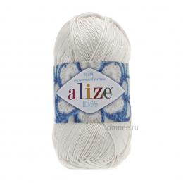 Alize Miss 450 (жемчужный), 100% хлопок, 50гр., 280 м.