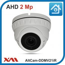 AltCam DDMV21IR.(Металл/Белая). 1080P. 2Mpx. Камера видеонаблюдения.