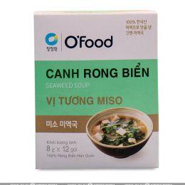"""Суп быстрого приготовления (морская капуста и паста мисо) """"Seaweed soup. Miso Flavor"""" 96г"""