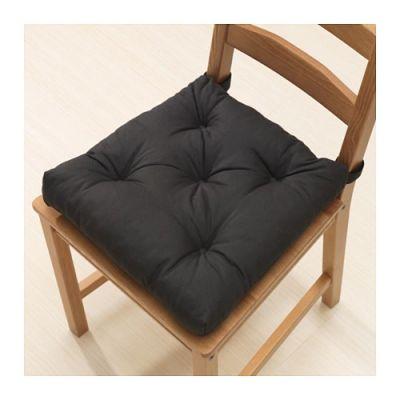 МАЛИНДА Подушка на стул, черный