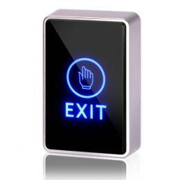 XMEye-EXIT-10(ПН/Б). Кнопка пластиковая, накладная, бесконтактная НЗ/НР.
