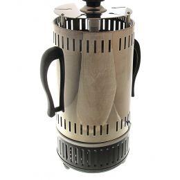 Электрошашлычница LuazON LKE-01, 5 шампуров, 1000Вт, 5 чашек для жира, нерж. сталь