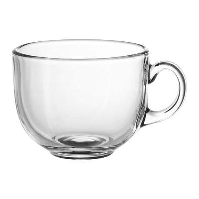 УППГРАДЕРА Чашка большая, прозрачное стекло 8 см