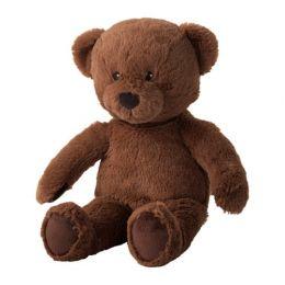 БРЮНБЬЁРН Мягкая игрушка, медведь