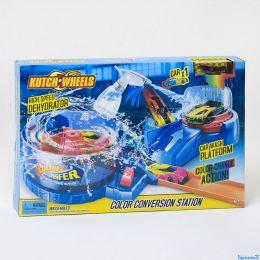 Автотрек Покраска авто S 8860 (24/2) машинка меняет цвет, в коробке [Коробка]
