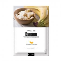 COS.W My Real Skin Banana Facial Mask Тканевая маска для лица с экстрактом банана