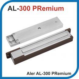 ALer. AL-300 12V Premium. Коричневый. Электромагнитный замок. Усилие 300 кг.