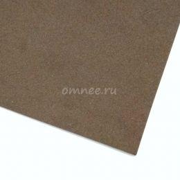 Фоамиран 1мм, 20х30 см, цв.: коричневый ВК-028