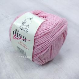 Diva natural cotton baby (09 св.розовый), 100% хлопок, 50 г. 200 м.