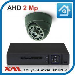 Комплект видеонаблюдения на 1 камеру XMEye-KIT412AHD310PG-1.