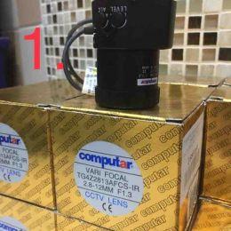 Computar (07J) TG4Z2813AFCS-IR. 2.8-12MM F1.3. Вариофокальный объектив CS для камер видеонаблюдения с фокусным расстоянием 2.8-12 мм.