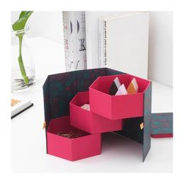АНИЛИНАРЕ Декоративная коробка, красный, зеленый 14 x 16 см