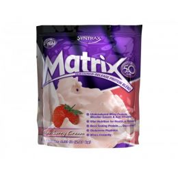 SYNTRAX Matrix 5.0 protein, дойпак 2,27кг. Strawberry cream