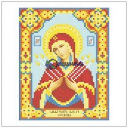 """Т-0276 """"Ікона Божої Матері """"Семистрельная"""""""