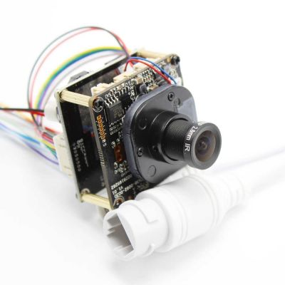 XMEye-BLK530AI-40x38 + CMOS25-38x38-WP1. 1080p. 2 Мп. Модульная камера видеонаблюдения IP - Wi-Fi.