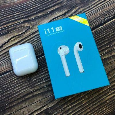 Беспроводные Bluetooth BT наушники i11 5.0 TWS Синий Air