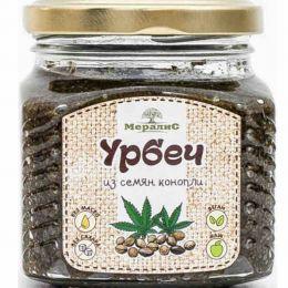 Урбеч из семян конопли