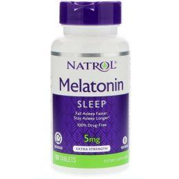 NATROL мелатонин 100таб.